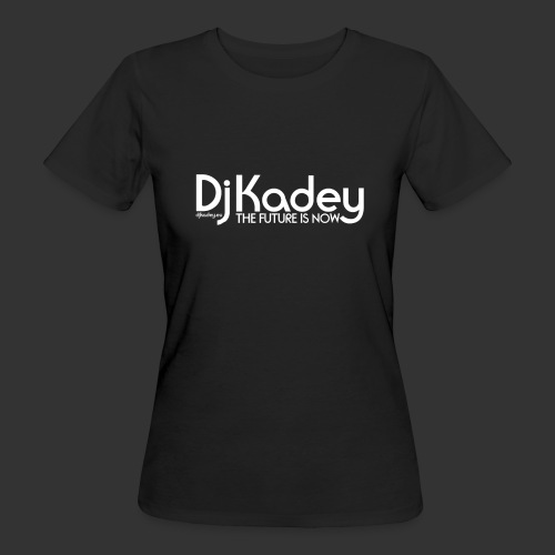 White Dj Kadey Logo - T-shirt bio Femme