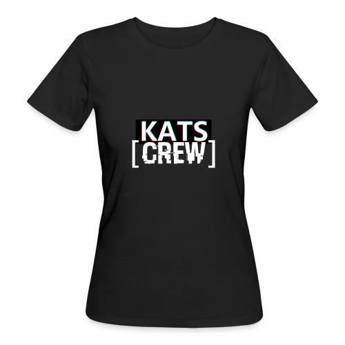 KATS CREW Logo - Ekologiczna koszulka damska
