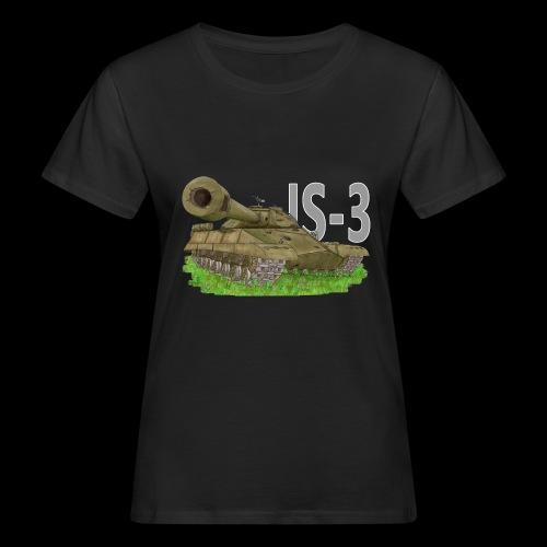 IS-3 (Writing) - T-shirt ecologica da donna