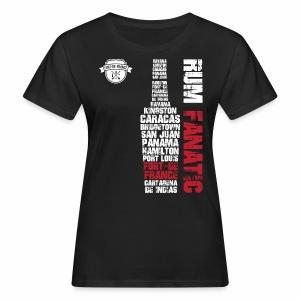 T-shirt Rum Fanatic - Fort-de-France, Martynika - Ekologiczna koszulka damska