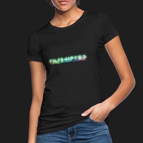 TiltShifted Logo on Black - Naisten luonnonmukainen t-paita