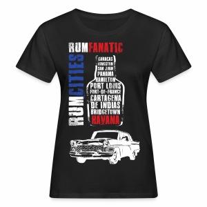 Koszulka rumowa - Havana - Koszulka miłośnika rumu - Ekologiczna koszulka damska