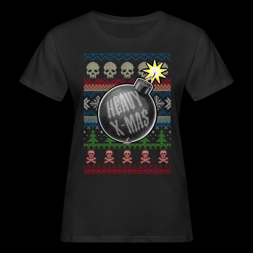 Heavy X-Mas Christbaumkugel-Bombe - Frauen Bio-T-Shirt