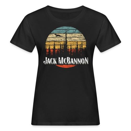 Jack McBannon - Forest Sundown - Frauen Bio-T-Shirt