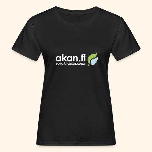 Akan White - Ekologisk T-shirt dam