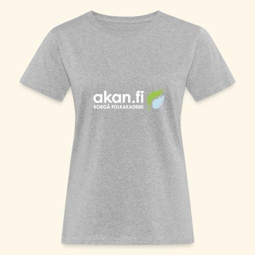 Akan White - Naisten luonnonmukainen t-paita