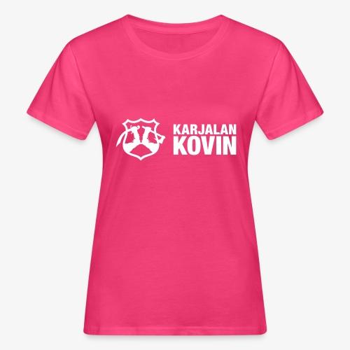 karjalan kovin vaaka - Naisten luonnonmukainen t-paita