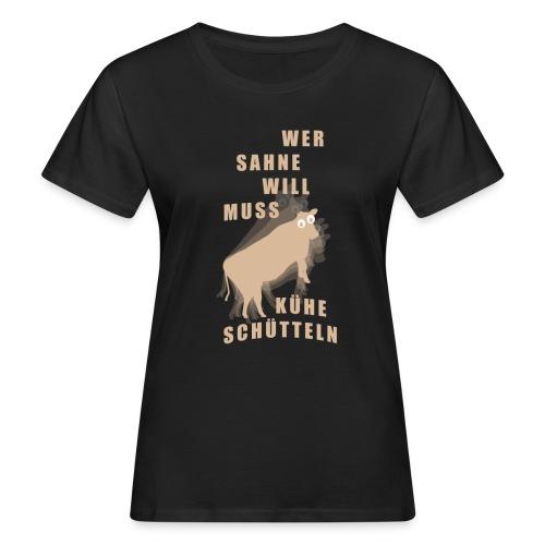 Sahne - Frauen Bio-T-Shirt