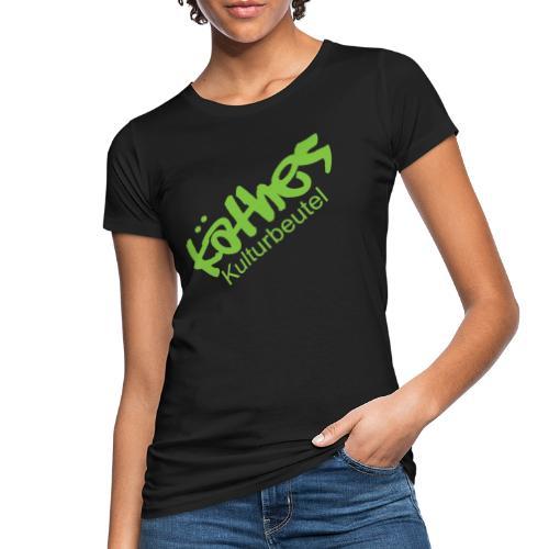 Kulturbeutel Logo - Frauen Bio-T-Shirt