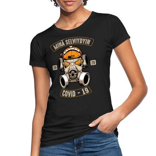 COVID-19, minä selviydyin - Naisten luonnonmukainen t-paita