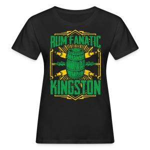 T-shirt Rum Fanatic - Kingston, Jamajka - Ekologiczna koszulka damska