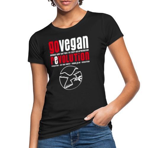 GO VEGAN REVOLUTION - Frauen Bio-T-Shirt