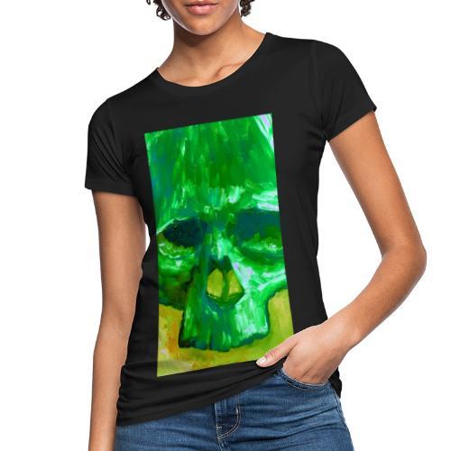 Green Skull - Vrouwen Bio-T-shirt