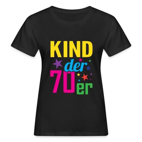 Kind der 70er - Frauen Bio-T-Shirt