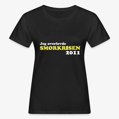 Smørkrise 2011 - Norsk - Økologisk T-skjorte for kvinner