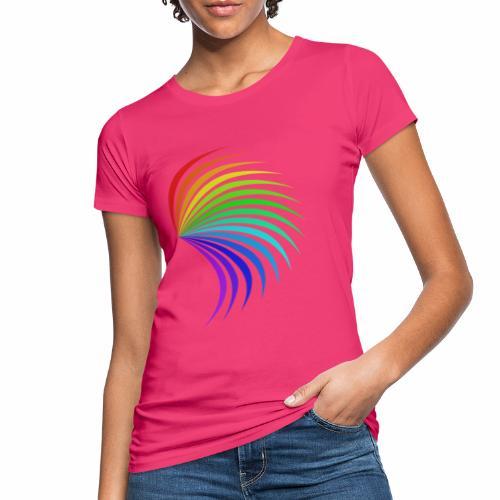 Kolorowe skrzydło - Ekologiczna koszulka damska