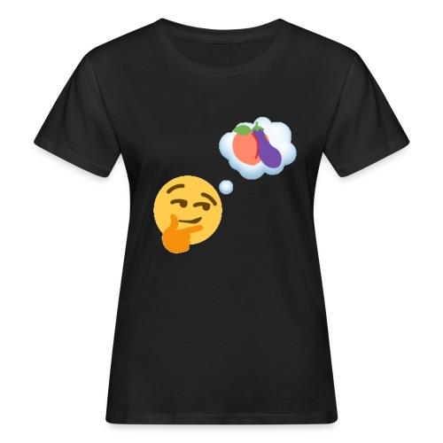 Johtaja98 Emoji - Naisten luonnonmukainen t-paita