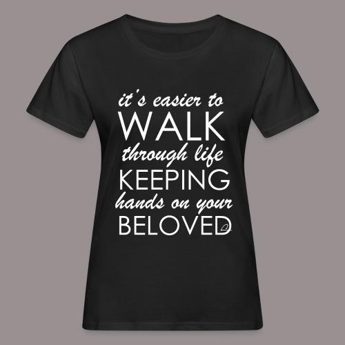 Rakkaus - Naisten luonnonmukainen t-paita