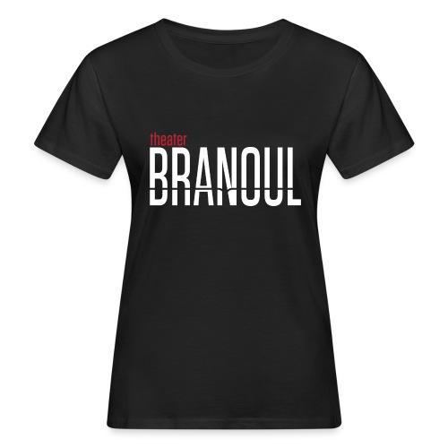 Branoul Logo rood wit - Vrouwen Bio-T-shirt