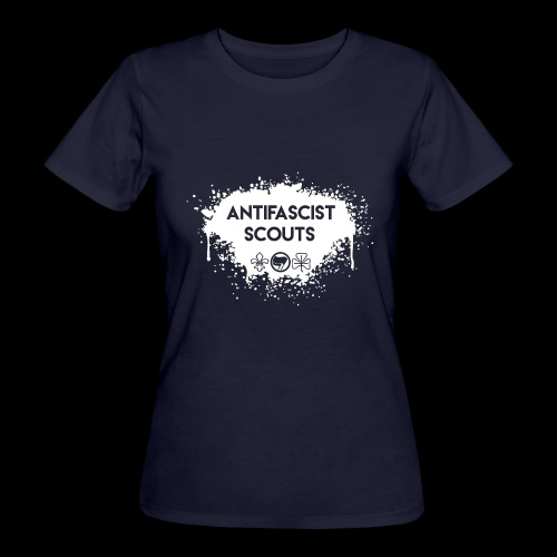 Antifascist Scouts - Women's Organic T-Shirt