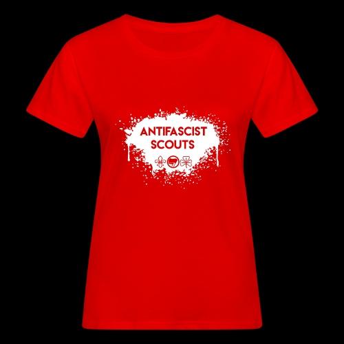 Antifascist Scouts - Women's Organic T-Shirt