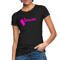 I Wish I Was Kitesurfing - Pink - Women's Organic T-Shirt black