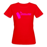 I Wish I Was Kitesurfing - Pink - Women's Organic T-Shirt red