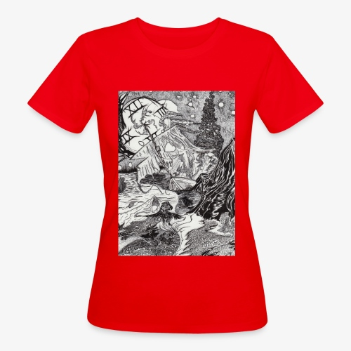 Pandora'sTwilight by Rivinoya - Naisten luonnonmukainen t-paita