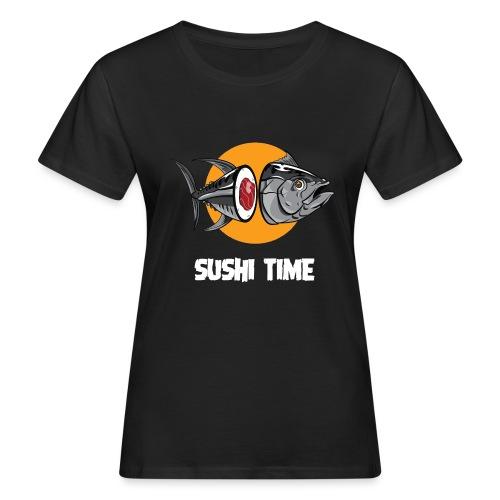 SUSHI TIME-tonno-b - T-shirt ecologica da donna