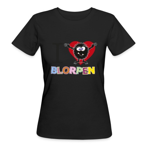 I Love Blorpen gif - Ekologisk T-shirt dam