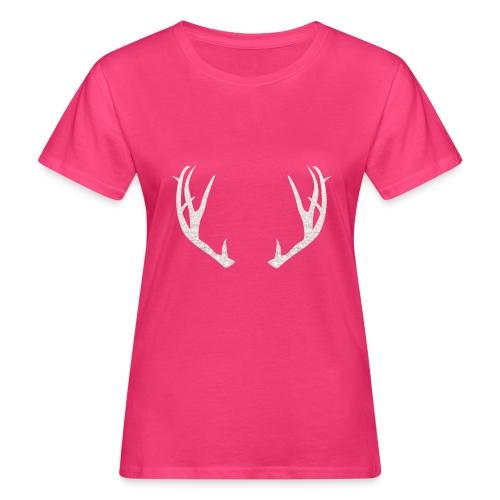 Jäiset poronsarvet - Naisten luonnonmukainen t-paita
