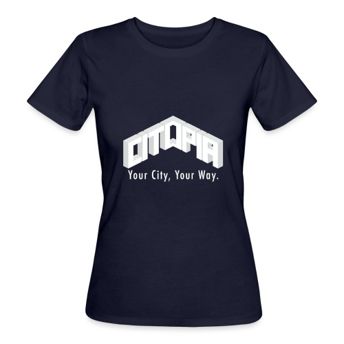 Logo with Slogan - Women's Organic T-Shirt