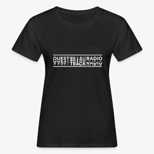 Logo Long blanc - T-shirt bio Femme