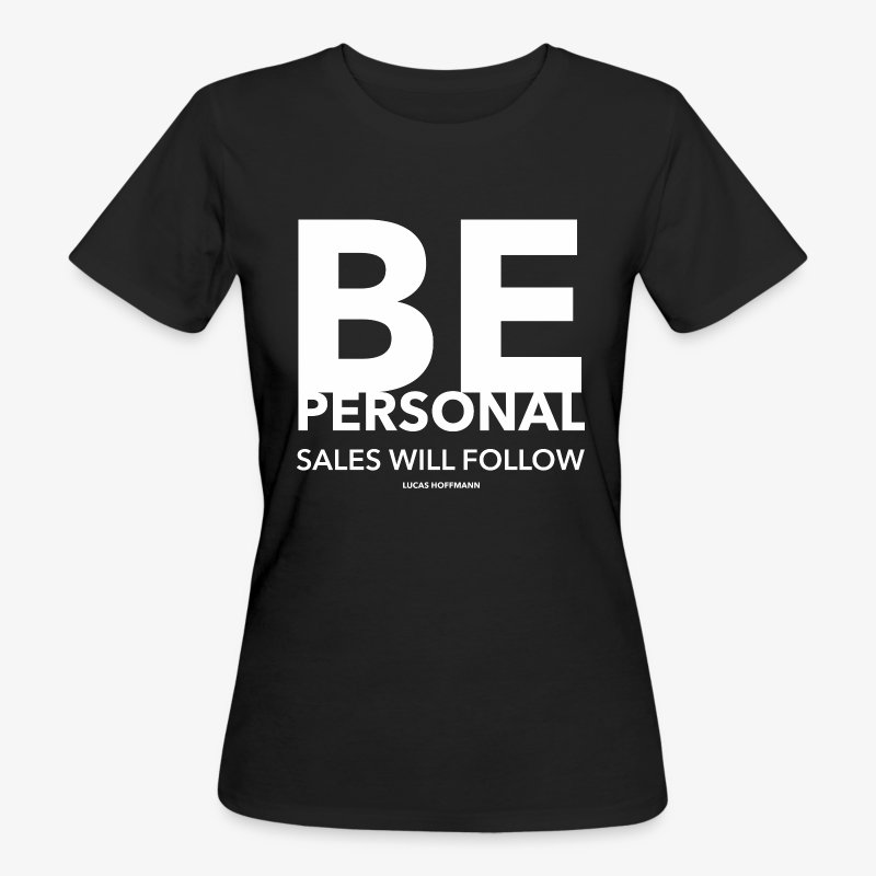 BE PERSONAL - Frauen Bio-T-Shirt