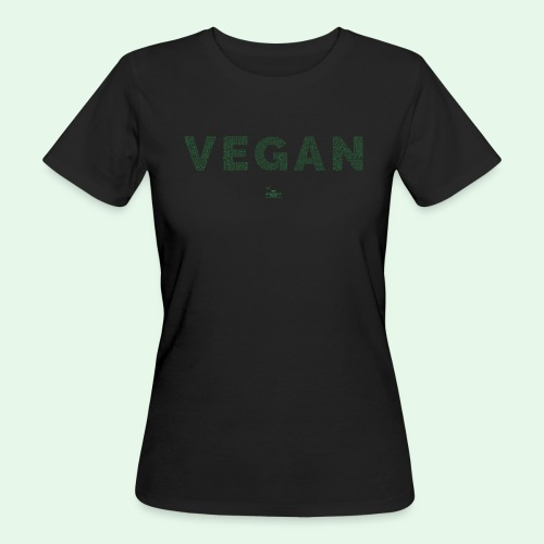 Vegan - Green - Ekologisk T-shirt dam