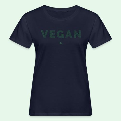 Vegan - Green - Ekologisk T-shirt dam