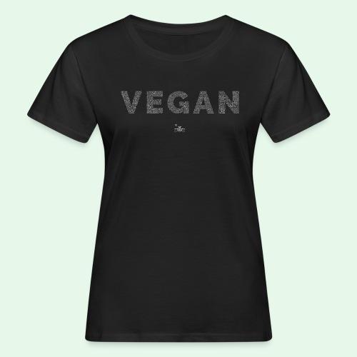 Vegan - White - Ekologisk T-shirt dam