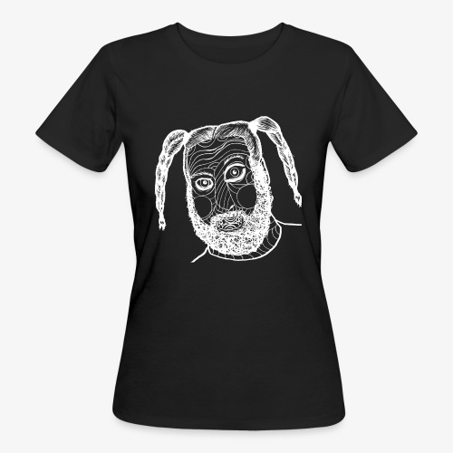 Das Kind Gesicht Neu weiß - Frauen Bio-T-Shirt