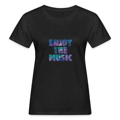 ENJOYTHEMUSIC PALMTREE - Camiseta ecológica mujer
