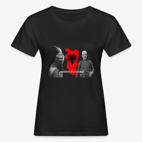 Autochthonous das Shirt muss jeder Albaner haben - Frauen Bio-T-Shirt