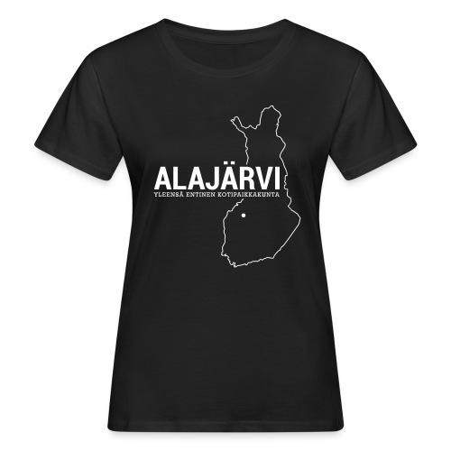 Kotiseutupaita - Alajärvi - Naisten luonnonmukainen t-paita