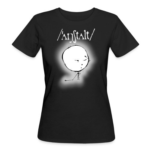 kreisling mit logo (weiß) - Frauen Bio-T-Shirt