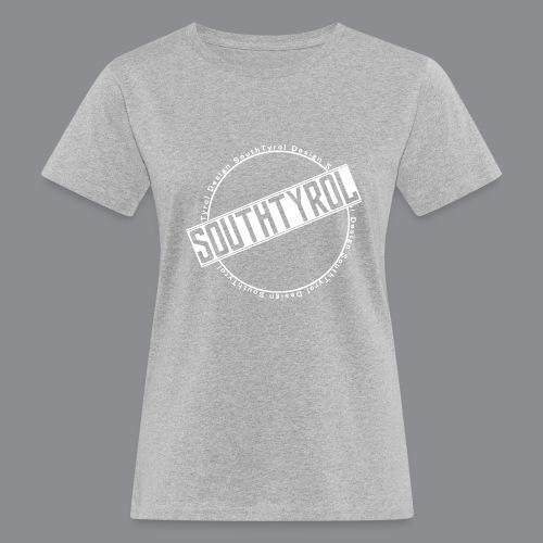 SouthTyrol Kreis weiß - Frauen Bio-T-Shirt