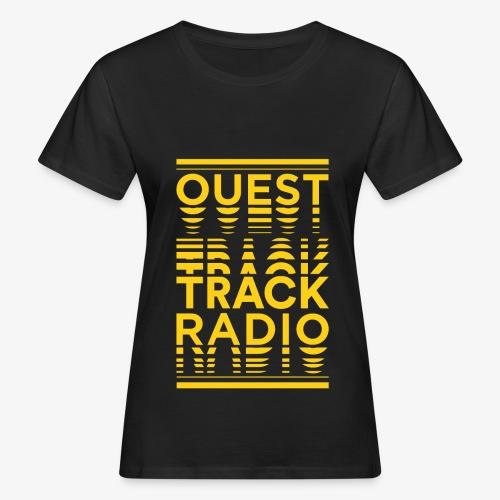 Logo Vertical Grand Jaune - T-shirt bio Femme