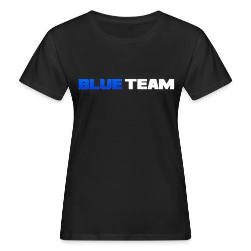 Blue Team - T-shirt bio Femme