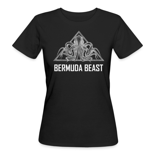 real beast weiß - Frauen Bio-T-Shirt