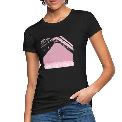 Helsinki light pink - Women's Organic T-Shirt