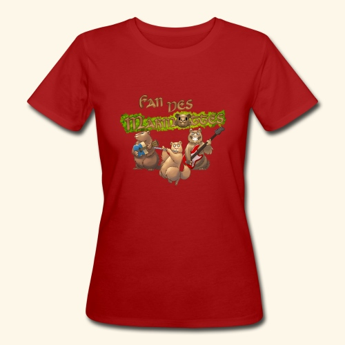 Tshirt fans - T-shirt bio Femme
