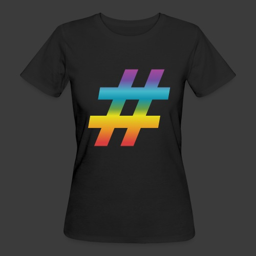 rainbow hash include - Women's Organic T-Shirt