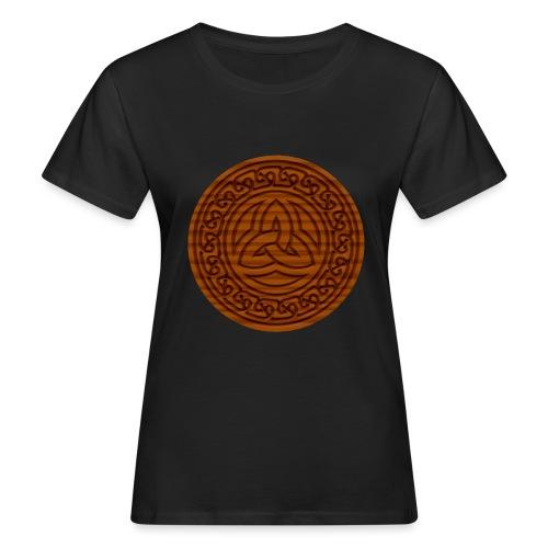 Triquetra Celtic Knot - Women's Organic T-Shirt